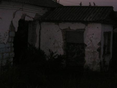 Тамбур старого клуба
