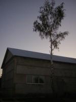 Крыша клуба в с. Троицкое