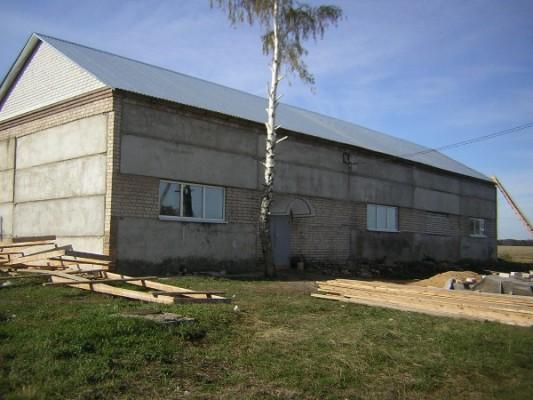 Бывшая котельная стала сельским клубом в с. Троицкое