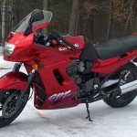 Kawasaki красный