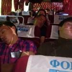 Ребятишки устали и уснули