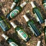 Бутылки из-под пива