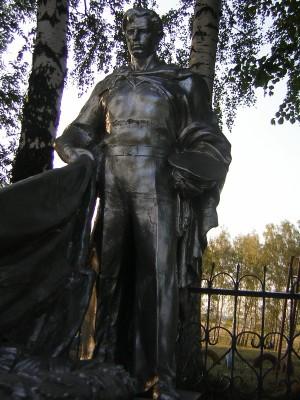 Памятник моряку-освободителю в с. Троицкое