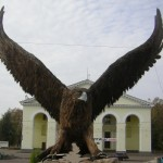 Орел на привокзальной площади г. Орла