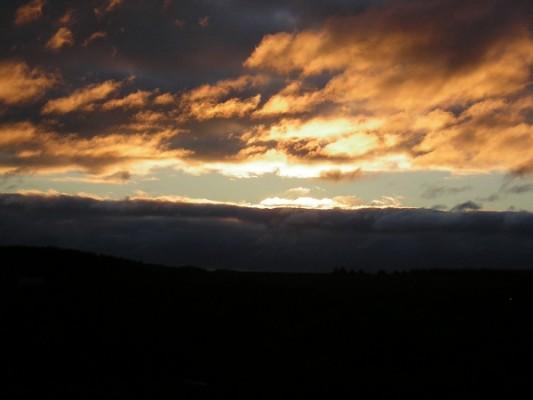 Облака утром в с. Троицкое