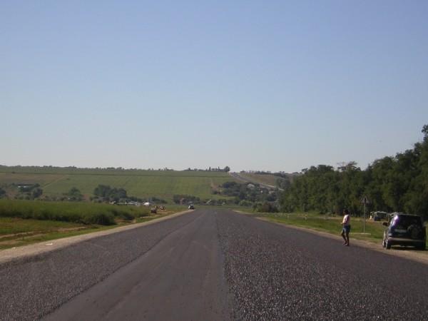 Широкоформатная дорога
