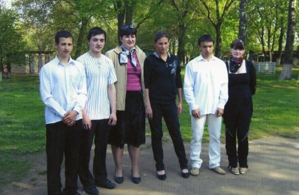 Ученики перед экзаменом