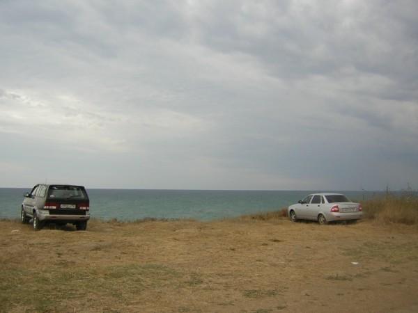Парковка автомобилей в Анапе
