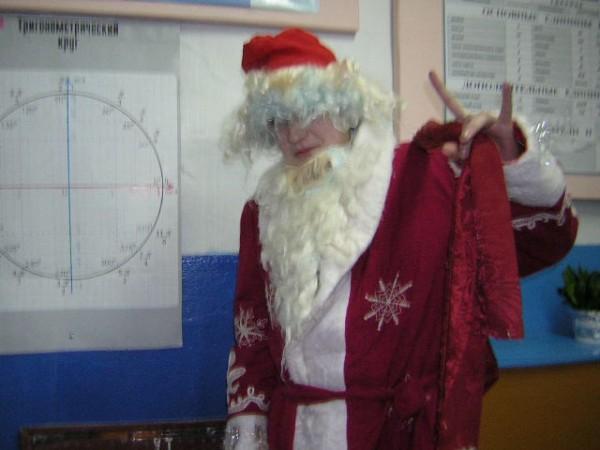 Дед-мороз красный нос