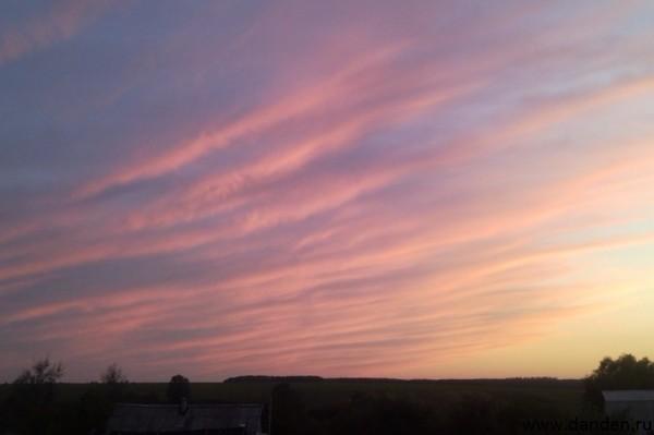 Красота осеннего неба