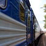 Летний поезд на юг в Ельце.