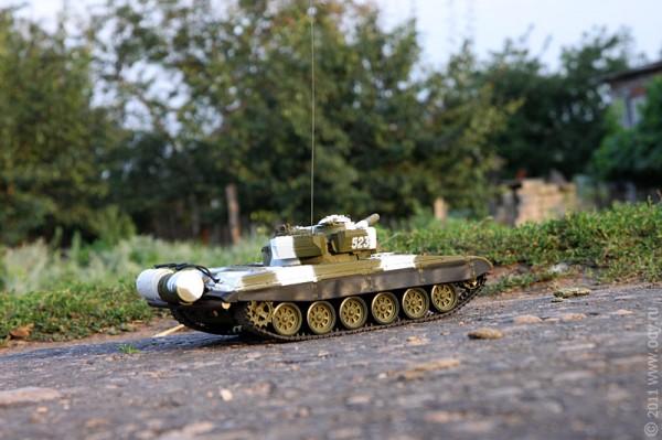 Танчик Т-72.