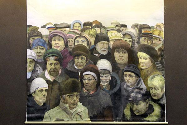 Картина в ДК Зеленограда.