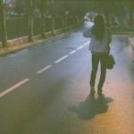 Пьяная вдоль улицы