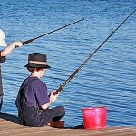 Рыбалка, дети, удочки, снасти, лето, сочинение