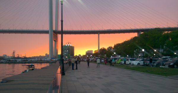 Набережная Цесаревича Владивосток